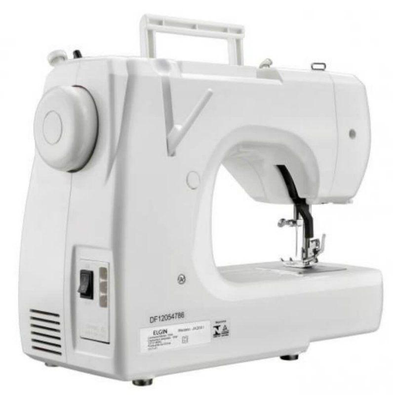 Máquina Costura Elgin Doméstica, Portátil Prática E Completa