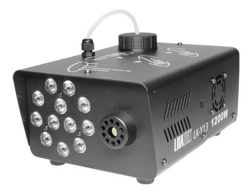 Maquina De Fumaça Luatek Lk-y13 Rgb Controle Remoto Sem Fio