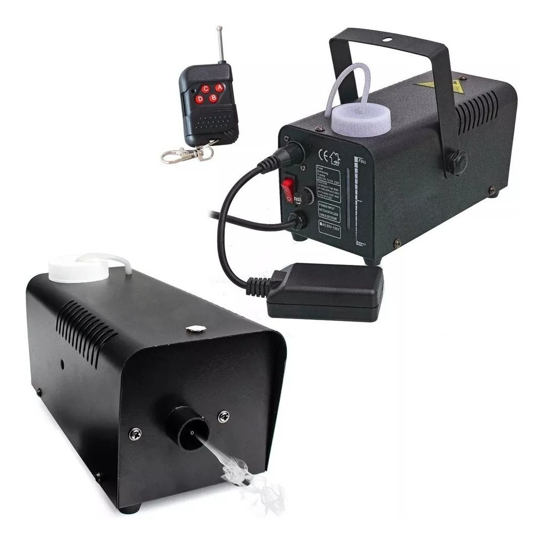 Maquina Fumaça 600 Watts Controle Remoto Sem Fio Ideal Festa