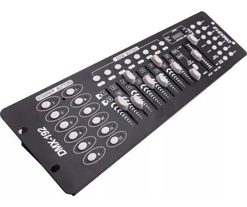 Mesa Controladora Dmx-512 Efeitos De Luz Dj, Luatek Lk-192