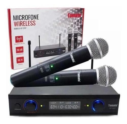 Microfone Sem Fio Mt-2207 Ideal Show Teatro Locuções Escolas
