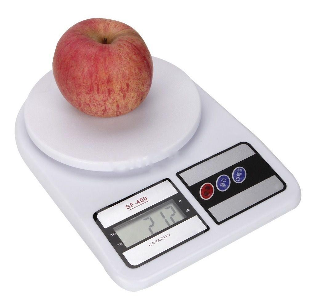 Mini Balança Pesa 10kg Uso Doméstico Alimentos Cozinha Dieta