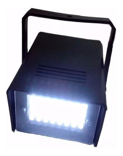 Mini Projetor Luz Branco Strobo Flash Festa Iluminação Clube