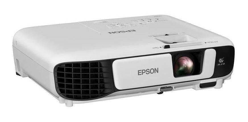 Projetor Epson 3.600 Lumens Powerlite W42+ Tecnologia 3 Lcd