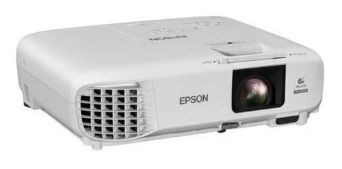 Projetor Epson Powerlite W39, Wxga 3500 Lumens 2 Hdmi Branco