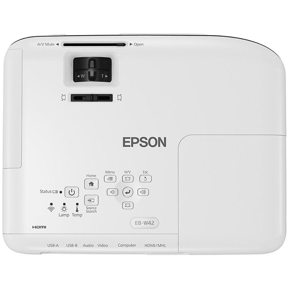 Projetor Epson Powerlite W42+ 3600 Lumens, Hdmi, Wxga Bivolt