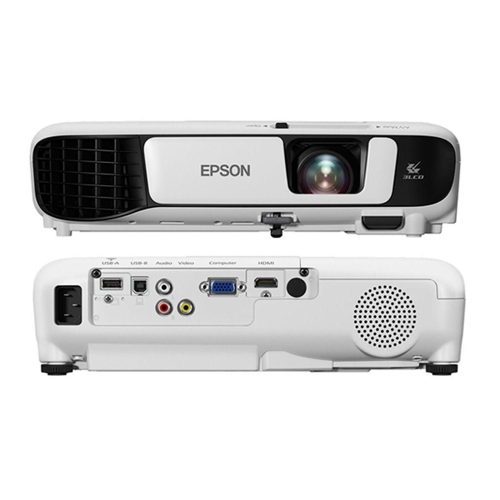 Projetor Epson S41+ Datashow Slides Filmes Jogos Fotos Video