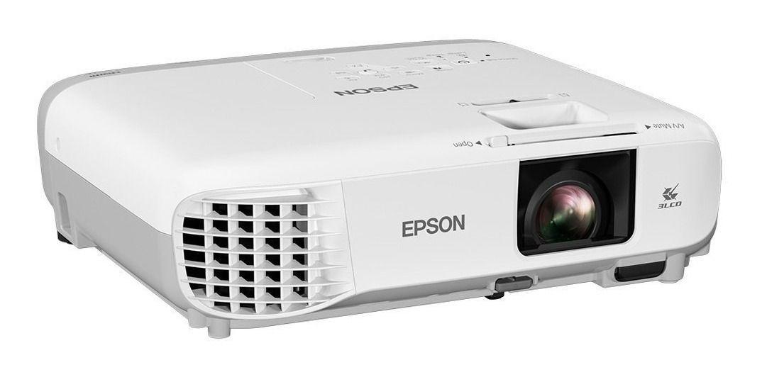 Projetor Epson X39 Powerlite 3500 Lumens Faculdade Professor