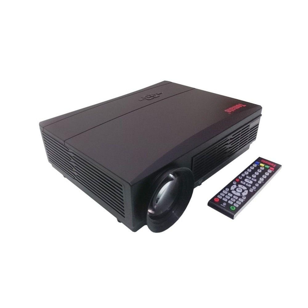 Projetor Tomate Mpr Hdmi Led 3000 Lumens 1080p Usb Avi Xbox