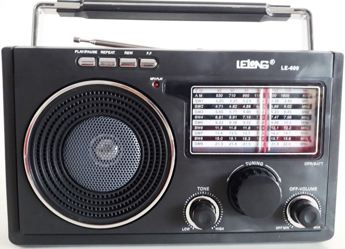 Rádio Am Fm Lelong Bivolt Ideal Levar Roça Fazenda Sítio
