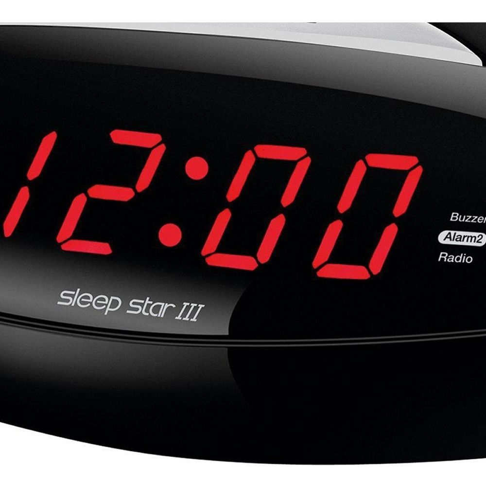 Radio Bivolt Am despertador Relógio Alarme Mondial Digital