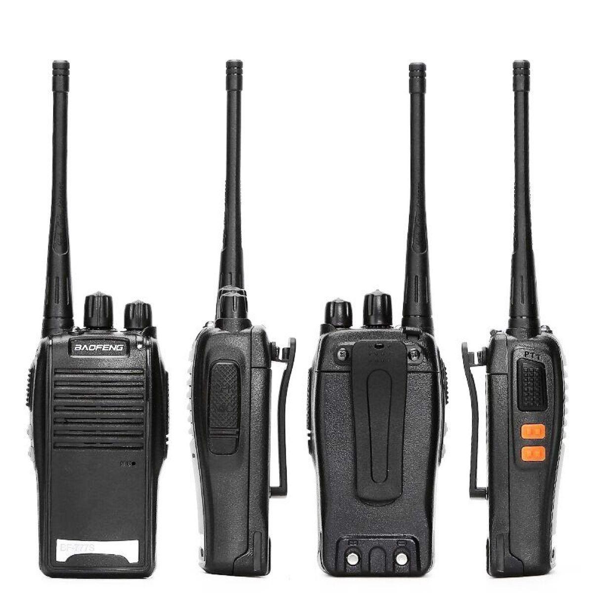 Radio Comunicador Bivolt 1 A 3km Segurança Empresas Lojas