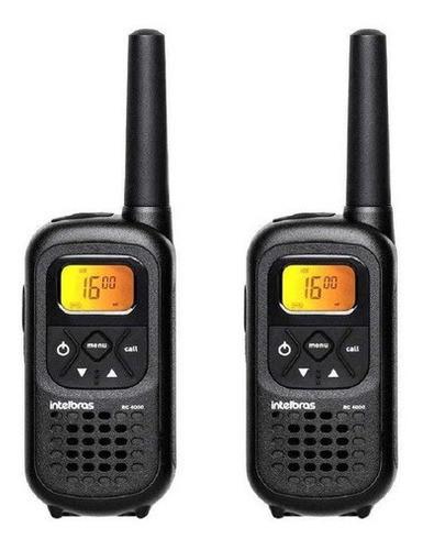 Rádio Comunicador Com 26 Canais 2km Escolas Empresas Rc 4000