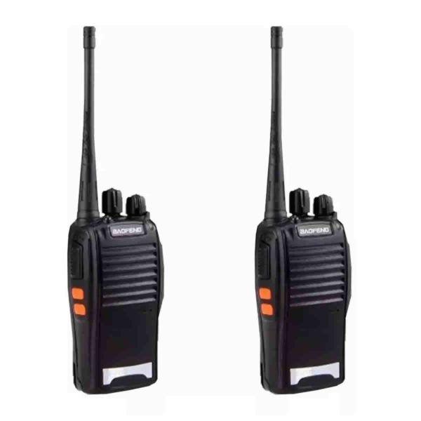 Radio Comunicador Walkie Talkie Ht Uhf Baofeng Bf-777s Fone