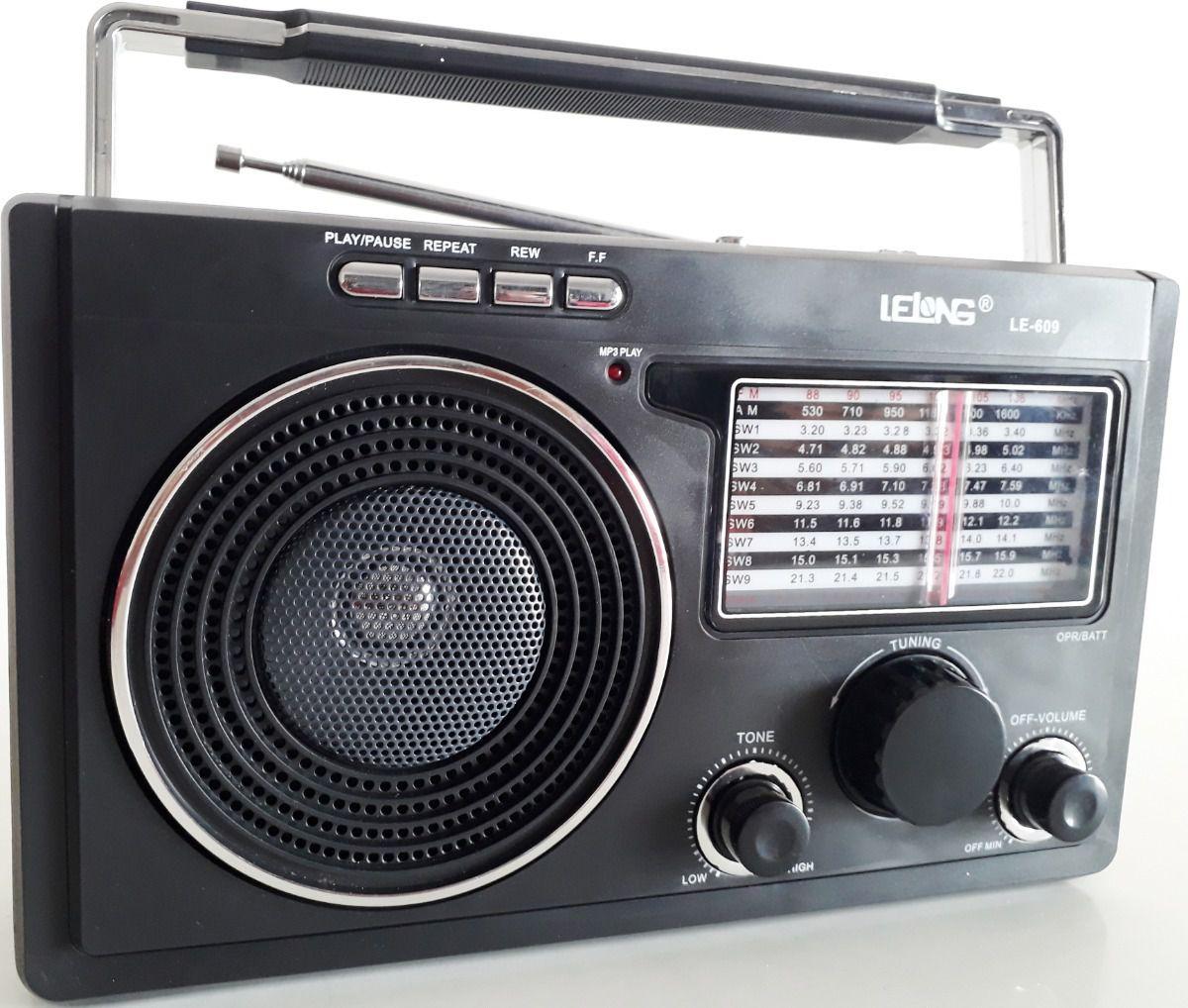 Rádio Mão Portátil Ouvir Musicas Jornal Jogo Futebol Energia