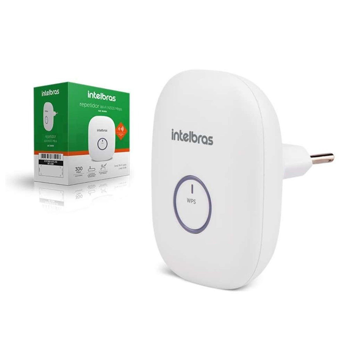 Repetidor Wireless Iwe 3000n 300mbps Maior Alcance Internet