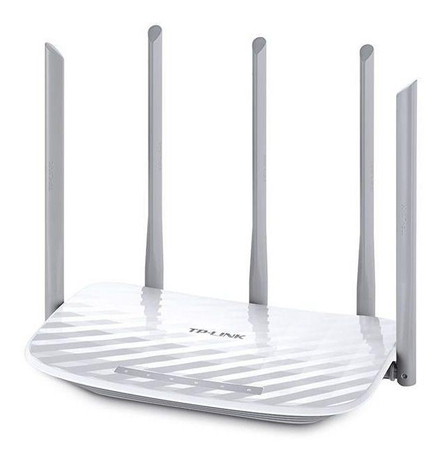 Roteador 1350mbps conexões duas bandas Wi-Fi simultaneamente