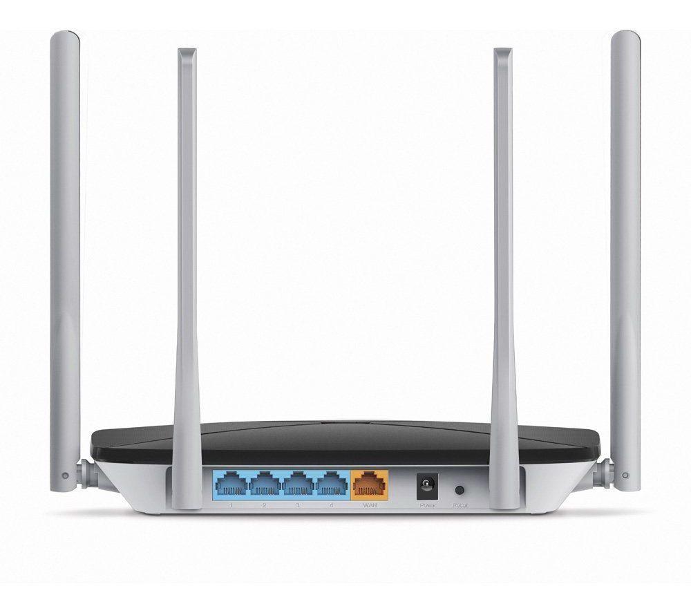 Roteador Conexão Wifi Ac 1200mpbs Dual Band 4 Antenas 5dbi