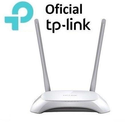 Roteador Wifi N 300mbps Internet Rede Repetidorr 2 Antenas