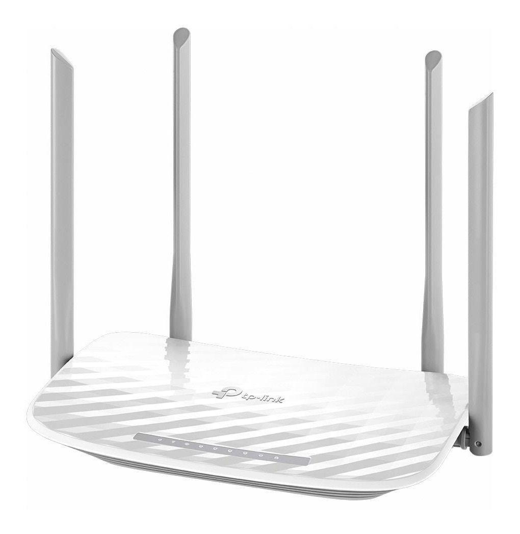 Roteador Wireless De 1200 Mbps 4 Antenas Wi Fi Dupla Banda