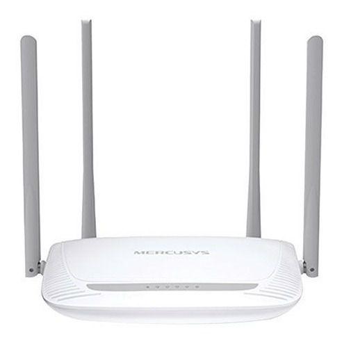Roteador Wireless Net 300mbps 4 Antenas de 5dbi Função Qos