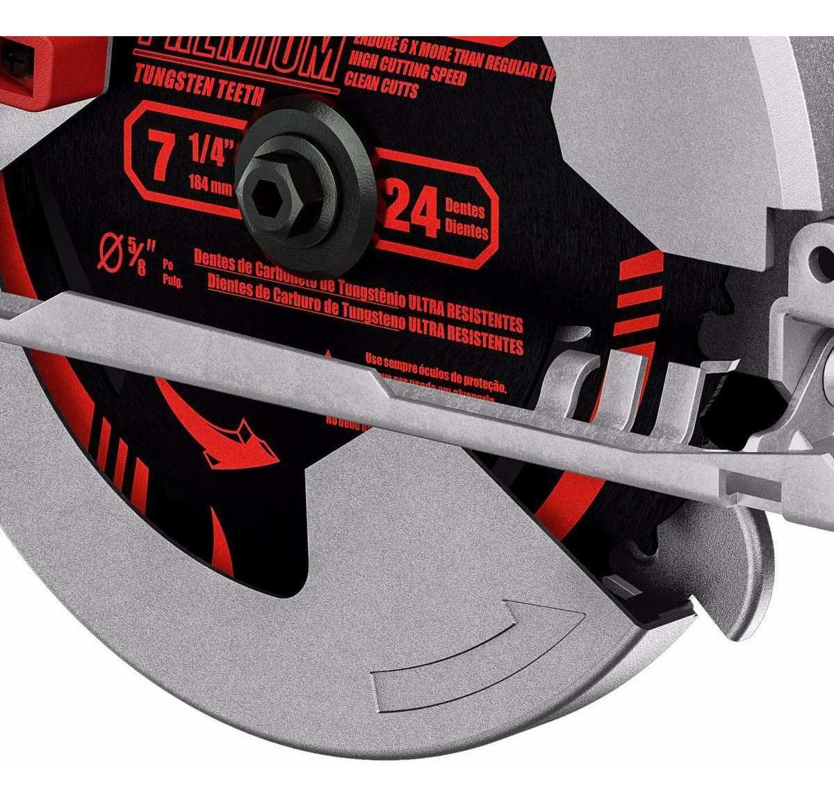 Serra Circular 7.1/4 Polegada Forte E Potente 1.400w Skil
