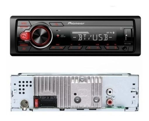 Som Automotivo Bluetooth Mp3 Fm Aux Display Colorido 4x23w