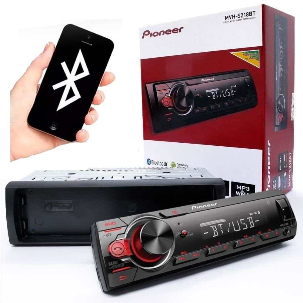 Toca Rádio Som Automotivo Bluetooth Mp3 Usb Aux 23wx4 Novo