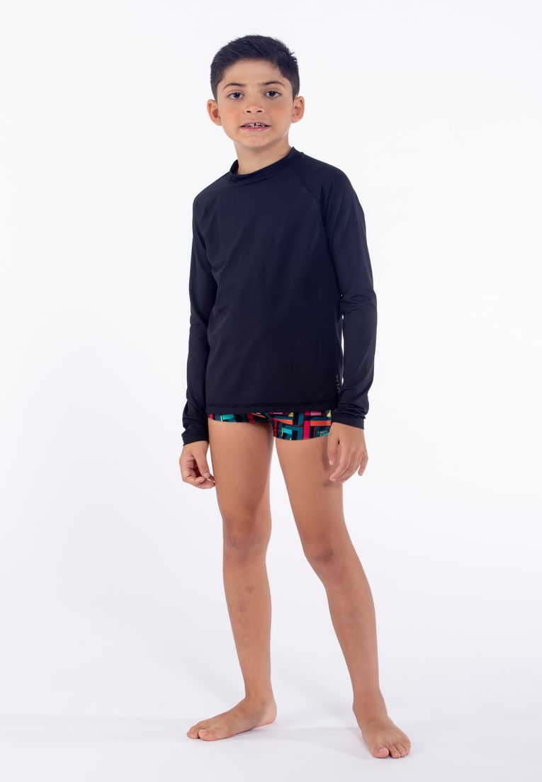 Blusa Kids UV50+ Unissex