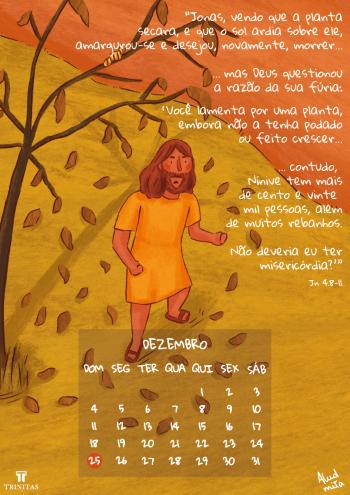 Calendário 2022 - A história de Jonas