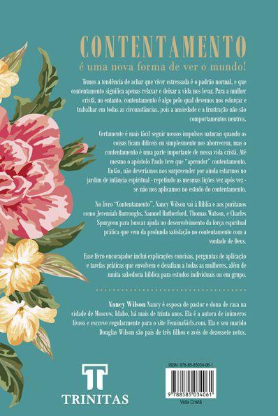 Livro Contentamento - Nancy Wilson