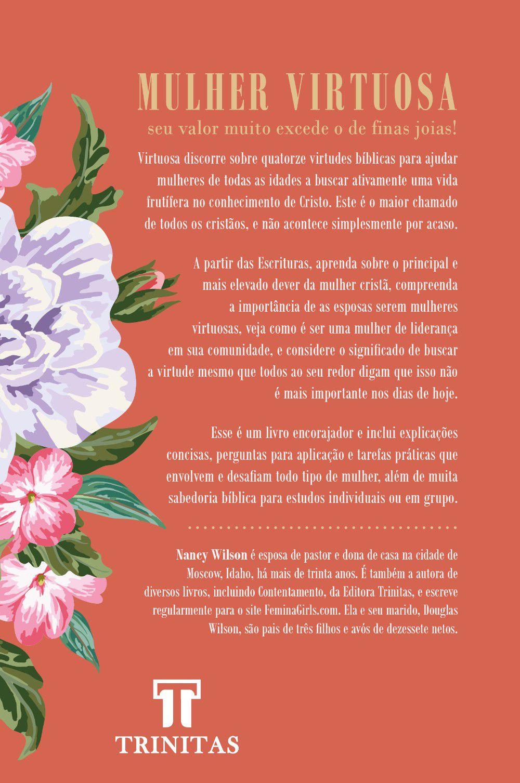 Livro Virtuosa - Nancy Wilson