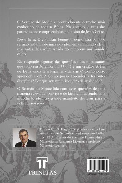 Livro O sermão do monte - Sinclair Ferguson