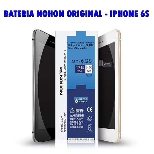 Bateria Iphone 6s Com Kit Ferramentas 3.82v 1715mah Nohon