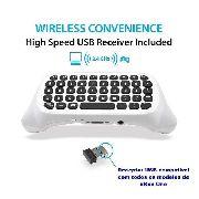 Teclado Wireless Chatpad para xBox One Preto ou Branco