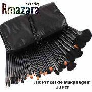 Kit de Pincel para Maquiagem com 32 Peças
