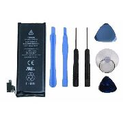 Bateria Iphone 4s Com Kit Ferramentas (3.7v 1430mah)