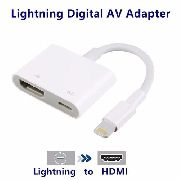 Adaptador Digital Lightning Para Hdmi Iphone / iPad / iPod
