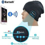 Gorro Bluetooth Music Com Microfone Gorro Headset Bluetooth