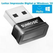 Mini Leitor Scanner de Impressão Digital Para Windows 10 Windows Hello