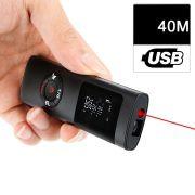 Trena Digital à Laser USB 40 metros