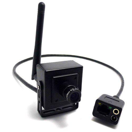 Mini Câmera de Segurança IP Wifi com Slot MicroSD