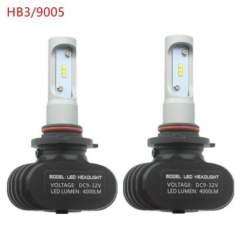 Lâmpada Super LED Automotiva Hb3 9005 Crystal Eye Super Branca