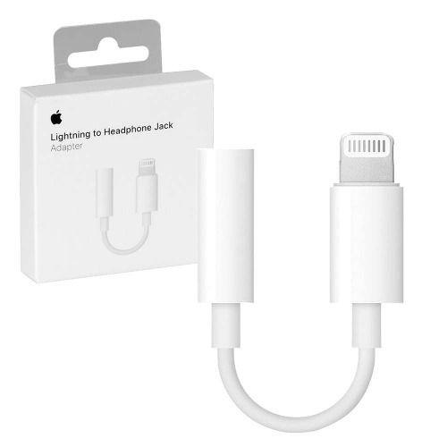 Adaptador Lightning Para Fones De Ouvido Original Apple