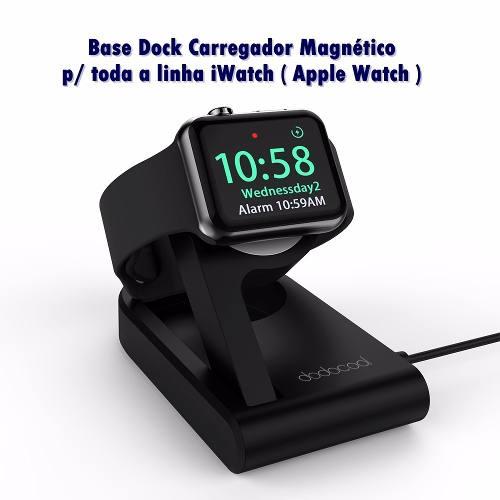 Base Dock Carregador Magnético Apple Watch