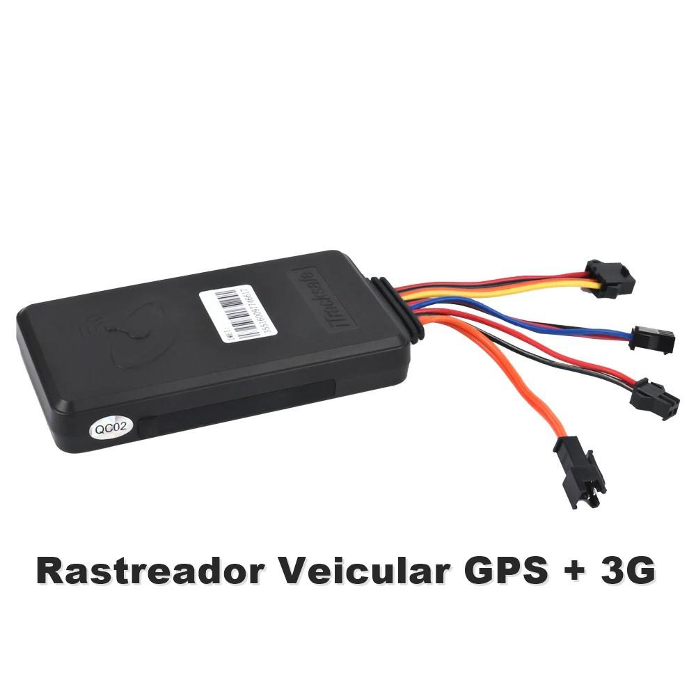 Alarme Rastreador Veicular GPS 3G Bloqueio Motor e Escuta