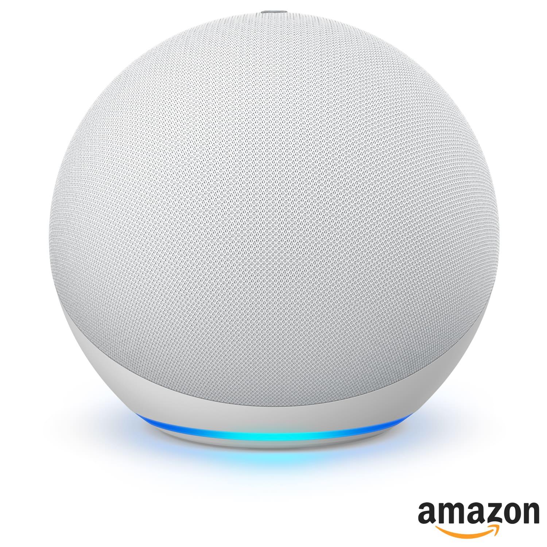 Amazon Echo Dot 4ª geração Alexa Speaker Casa Inteligente - Branco