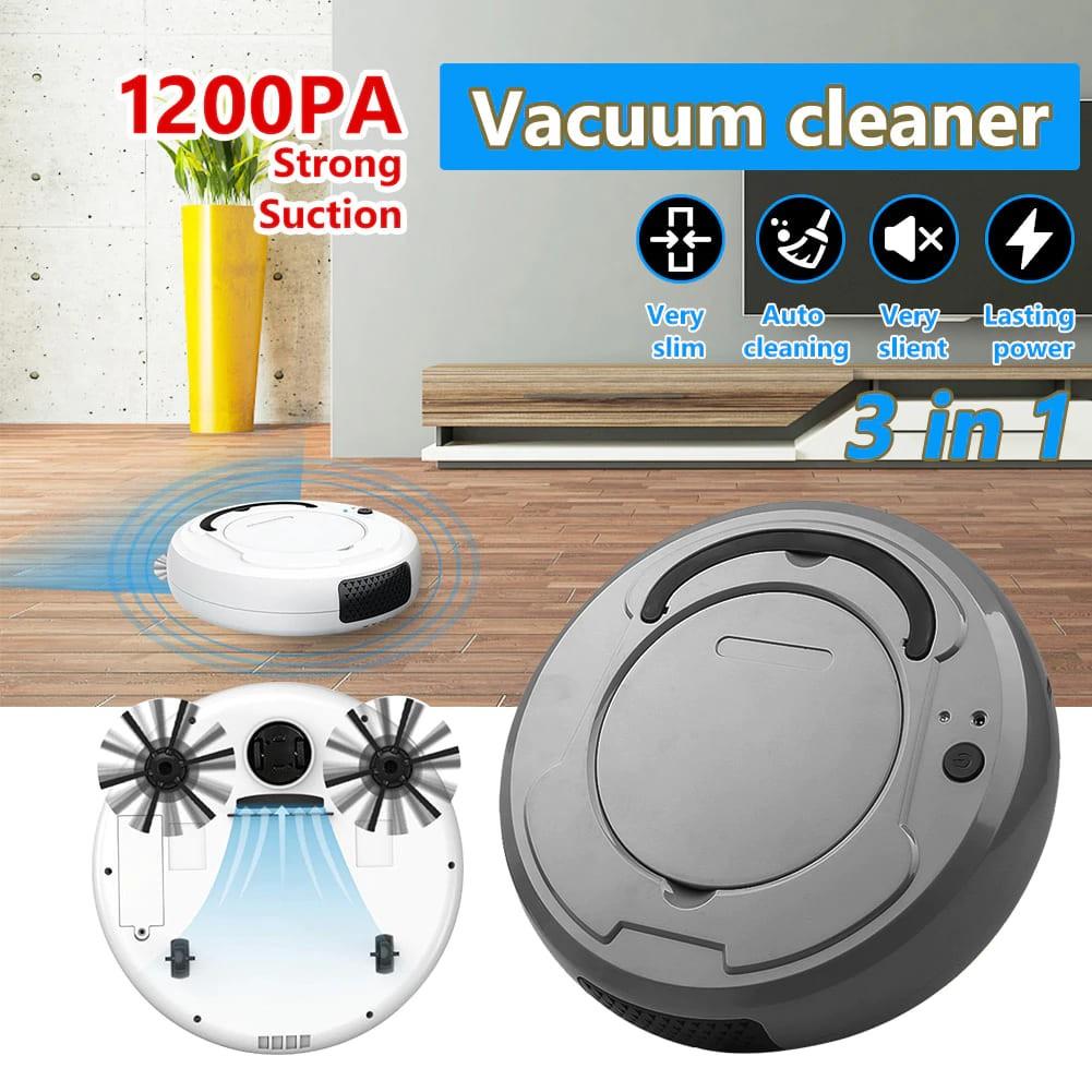 Aspirador Robô Vacuum Cleaner 3 em 1 bowAI