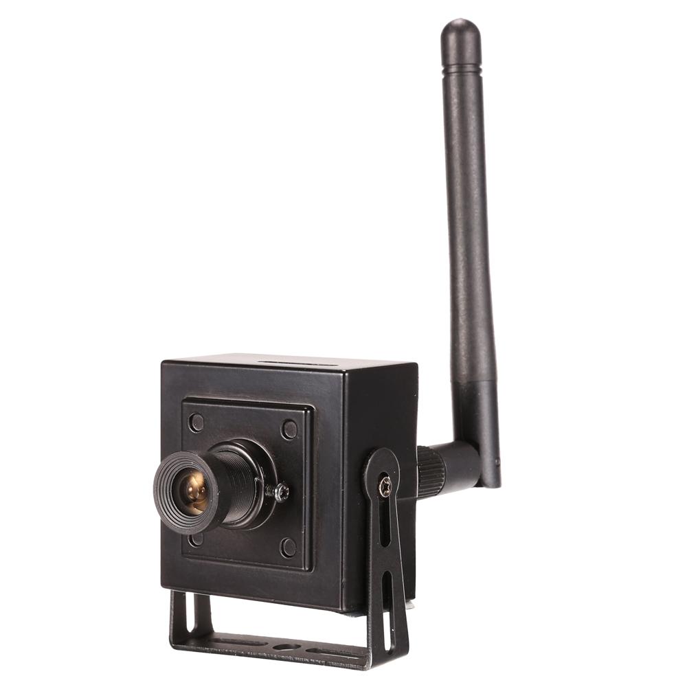 Camera IP Mini Onvif WiFi com Entrada Cartão MicroSD