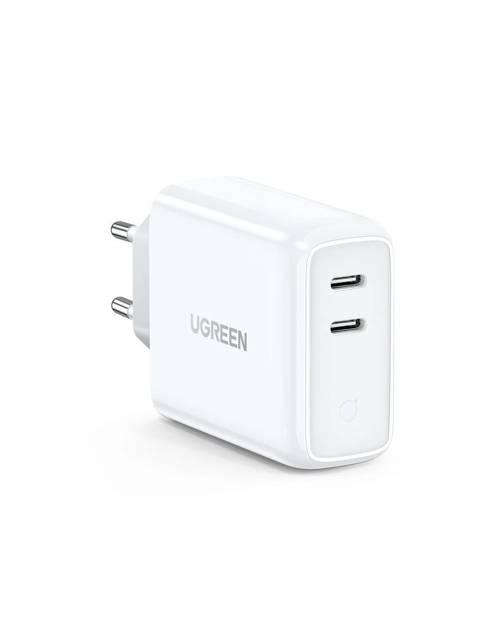 Carregador de Parede Dual USB-C 36W Fast Charger